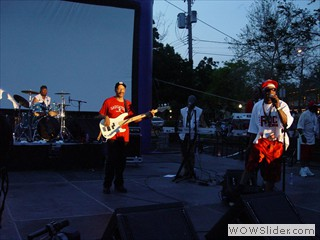 Rick James' Original Stone City Band at Waterfront Film Festival