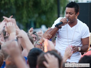 Shaggy Performs at Waterfront Film Festival