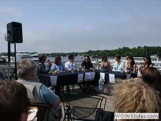 Interactive Panel with Actors, Producers, and Casting Directors at Waterfront Film Festival