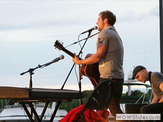 John Vesely of Secondhand Serenade at Waterfront Film Festival