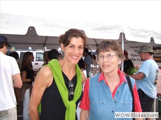 Wendie Malick at Waterfront Film Festival